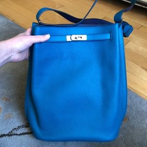 Hermes SoKelly 26 bicolor bag